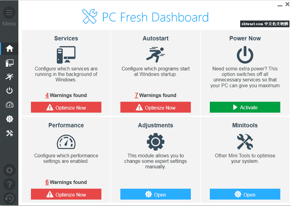 一鍵優化系統 – Abelssoft PC Fresh 2018.5.17.46