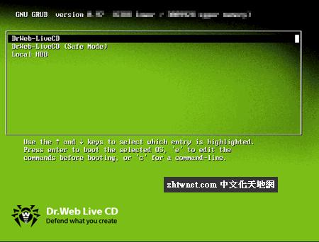 大蜘蛛免費系統開機急救殺毒工具 – Dr.Web LiveDisk