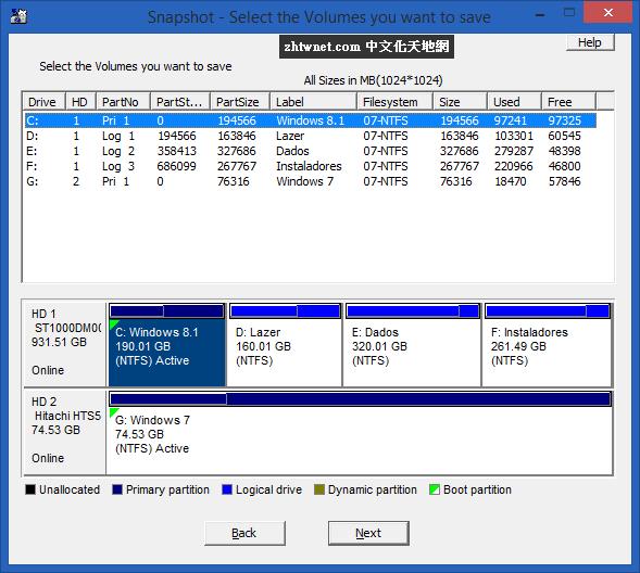 Drive SnapShot 1.48.0.18816 免安裝版 – 磁碟映像備份工具