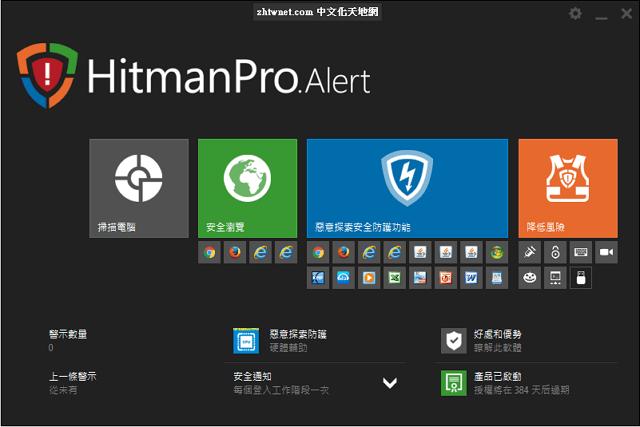 HitmanPro.Alert 3.8.2.867 中文版 – 預防勒索軟體勒索的工具