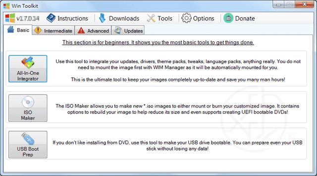 Win Toolkit 1.7.0.14 免安裝版 – 重灌光碟製作工具